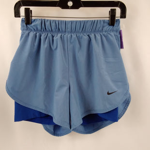 Primary Photo - BRAND: NIKE APPAREL STYLE: ATHLETIC SHORTS COLOR: BLUE SIZE: S SKU: 240-24049-58989