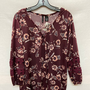 Primary Photo - BRAND: NEW DIRECTIONS STYLE: TOP LONG SLEEVE COLOR: PLUM SIZE: 3X SKU: 240-24049-53967