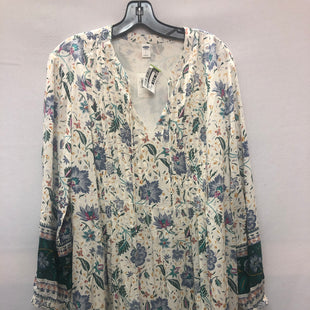 Primary Photo - BRAND: OLD NAVY STYLE: DRESS SHORT LONG SLEEVE COLOR: FLORAL SIZE: LARGE SKU: 240-24061-38718
