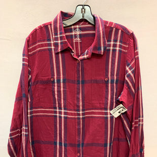 Primary Photo - BRAND: ST JOHNS BAY STYLE: TOP LONG SLEEVE COLOR: PURPLE SIZE: 1X SKU: 240-24069-19715