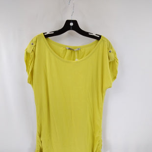 Primary Photo - BRAND: ATHLETA STYLE: ATHLETIC TOP SHORT SLEEVE COLOR: CHARTREUSE SIZE: 1X SKU: 240-24049-58755