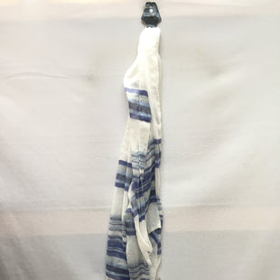 Primary Photo - BRAND: CALVIN KLEIN STYLE: SCARF COLOR: BLUE WHITE SKU: 240-24091-5320