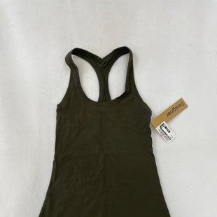 Primary Photo - BRAND: LULULEMON STYLE: ATHLETIC TANK TOP COLOR: OLIVE SIZE: XS SKU: 240-24049-55840