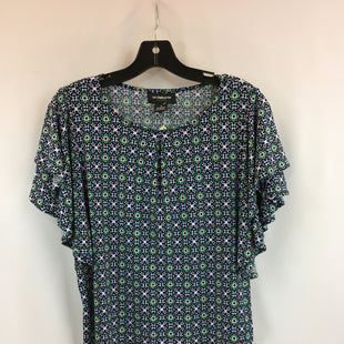 Primary Photo - BRAND: LIZ CLAIBORNE STYLE: TOP SHORT SLEEVE COLOR: BLUE GREEN SIZE: M SKU: 240-24049-57923