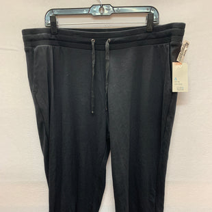 Primary Photo - BRAND: CROFT AND BARROW STYLE: ATHLETIC CAPRIS COLOR: BLACK SIZE: 2X SKU: 240-24083-8461