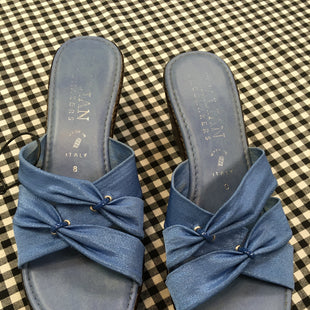 Primary Photo - BRAND: ITALIAN SHOEMAKERS STYLE: SANDALS LOW COLOR: BLUE SIZE: 8 SKU: 240-24049-51347