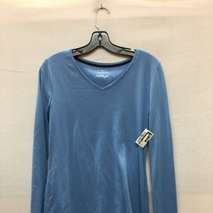 Primary Photo - BRAND: TALBOTS STYLE: TOP LONG SLEEVE BASIC COLOR: LIGHT BLUE SIZE: M SKU: 240-24071-3986
