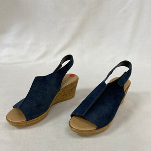 Primary Photo - BRAND:    CLOTHES MENTOR STYLE: SANDALS LOW COLOR: BLUE SIZE: 6.5 OTHER INFO: MILA PAOLI - SKU: 240-24083-9187