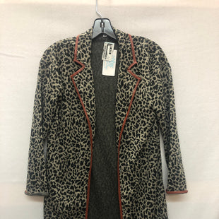 Primary Photo - BRAND: THML STYLE: BLAZER JACKET COLOR: ANIMAL PRINT SIZE: XS SKU: 240-24052-47953