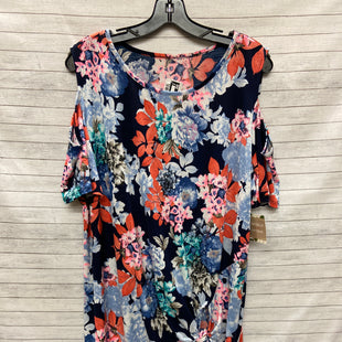 Primary Photo - BRAND:    CLOTHES MENTOR STYLE: TOP SHORT SLEEVE COLOR: FLORAL SIZE: 2X OTHER INFO: NB - SKU: 240-24049-49547