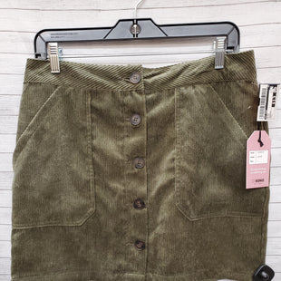 Primary Photo - BRAND: CI SONO STYLE: SKIRT COLOR: OLIVE SIZE: L OTHER INFO: CORDUROY SKU: 240-24052-52883