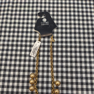 Primary Photo - BRAND:    CLOTHES MENTOR STYLE: NECKLACE COLOR: GOLD OTHER INFO: NB - SKU: 240-24083-7517