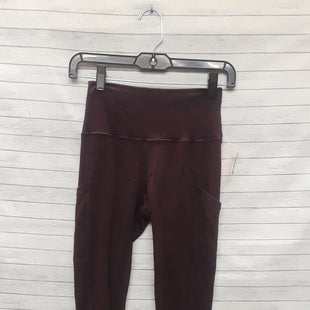 Primary Photo - BRAND: AERIE STYLE: ATHLETIC PANTS COLOR: PLUM SIZE: S OTHER INFO: AS IS SKU: 240-24049-55780