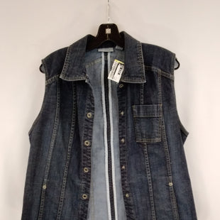 Primary Photo - BRAND: CHICOS STYLE: VEST COLOR: DENIM SIZE: 2 SKU: 240-24052-56769