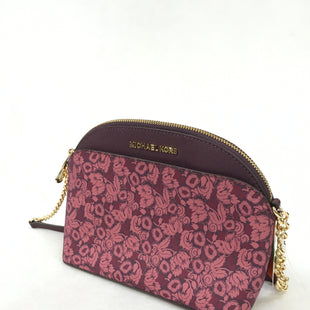 Primary Photo - BRAND: MICHAEL KORS STYLE: HANDBAG DESIGNER COLOR: PLUM SIZE: SMALL SKU: 240-24071-5002