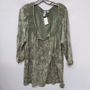 Primary Photo - BRAND:    CLOTHES MENTOR STYLE: TOP LONG SLEEVE COLOR: OLIVE SIZE: 2X OTHER INFO: CASLON - SKU: 240-24049-47642