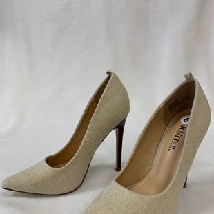 Primary Photo - BRAND: JUST FAB STYLE: SHOES HIGH HEEL COLOR: CREAM SIZE: 6 OTHER INFO: AS IS SKU: 240-24049-55476