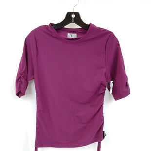 Primary Photo - BRAND: ATHLETA STYLE: ATHLETIC TOP SHORT SLEEVE COLOR: PLUM SIZE: M SKU: 240-24052-57883