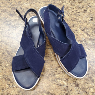 Primary Photo - BRAND: MARC FISHER STYLE: SANDALS FLAT COLOR: BLUE SIZE: 7 SKU: 240-24068-6285
