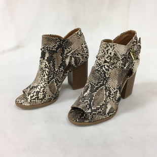 Primary Photo - BRAND: QUPID STYLE: BOOTS ANKLE COLOR: SNAKESKIN PRINT SIZE: 6 SKU: 240-24091-5760
