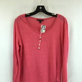 Primary Photo - BRAND: BANANA REPUBLIC O STYLE: TOP LONG SLEEVE COLOR: PINK SIZE: S SKU: 240-24091-5211