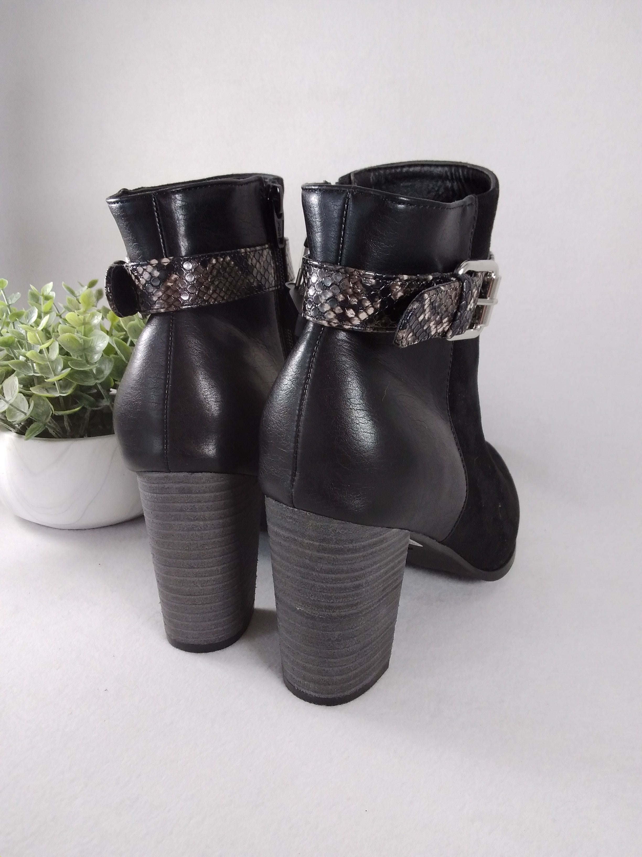 Photo #3 - BRAND: CATO <BR>STYLE: BOOTS ANKLE <BR>COLOR: BLACK <BR>SIZE: 11 <BR>SKU: 240-24049-57381