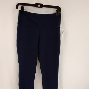 Primary Photo - BRAND: NEW BALANCE STYLE: ATHLETIC PANTS COLOR: NAVY SIZE: M SKU: 240-24052-58156