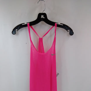 Primary Photo - BRAND: NIKE APPAREL STYLE: ATHLETIC TANK TOP COLOR: PINK SIZE: S SKU: 240-24071-5879