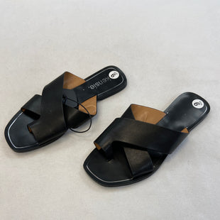 Primary Photo - BRAND: KENSIE STYLE: SANDALS FLAT COLOR: BLACK SIZE: 6 SKU: 240-24052-52850