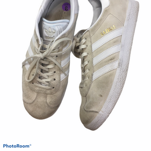 Primary Photo - BRAND: ADIDAS STYLE: SHOES ATHLETIC COLOR: CREAM SIZE: 8 SKU: 240-24049-49178
