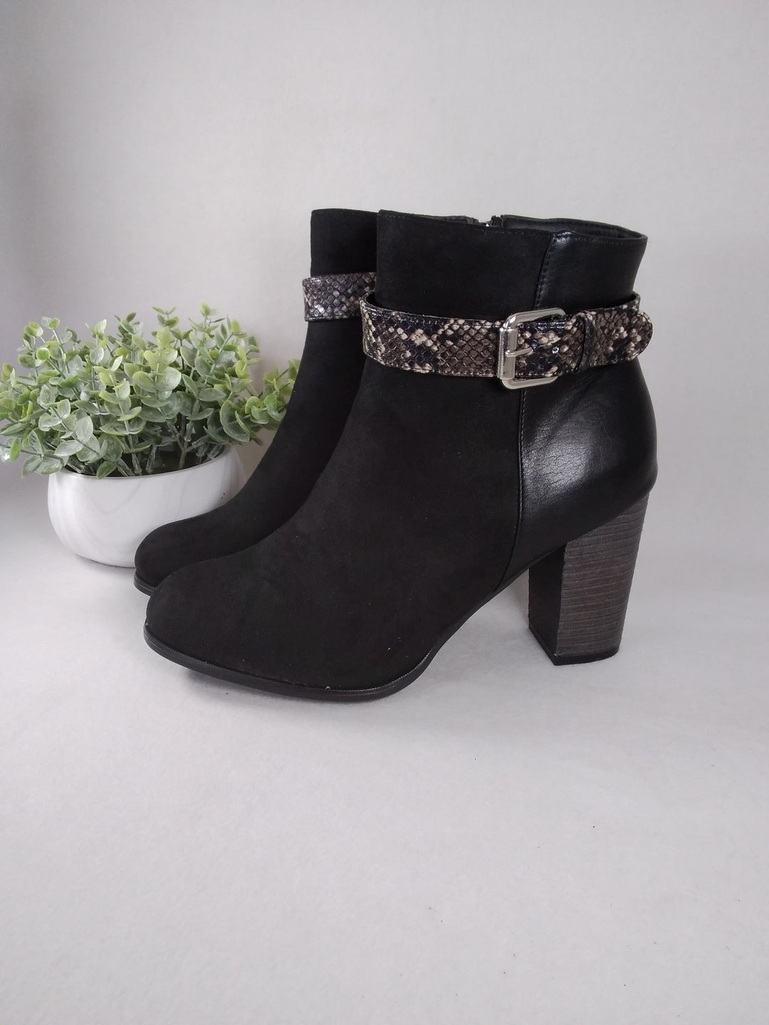 Primary Photo - BRAND: CATO <BR>STYLE: BOOTS ANKLE <BR>COLOR: BLACK <BR>SIZE: 11 <BR>SKU: 240-24049-57381