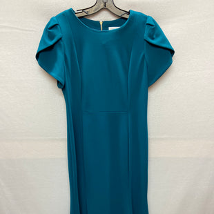 Primary Photo - BRAND: CALVIN KLEIN STYLE: DRESS SHORT SHORT SLEEVE COLOR: TEAL SIZE: M SKU: 240-24052-51520