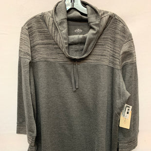 Primary Photo - BRAND: ST JOHNS BAY STYLE: TOP LONG SLEEVE COLOR: GREY SIZE: XXL SKU: 240-24061-34624