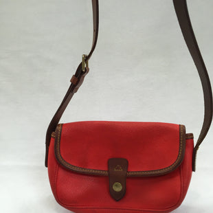 Primary Photo - BRAND: DOONEY AND BOURKE STYLE: HANDBAG DESIGNER COLOR: STRAWBERRY SIZE: SMALL SKU: 240-24052-48605