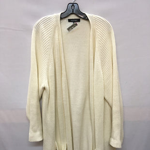 Primary Photo - BRAND: ELLEN TRACY STYLE: SWEATER CARDIGAN HEAVYWEIGHT COLOR: CREAM SIZE: 3X SKU: 240-24091-3680