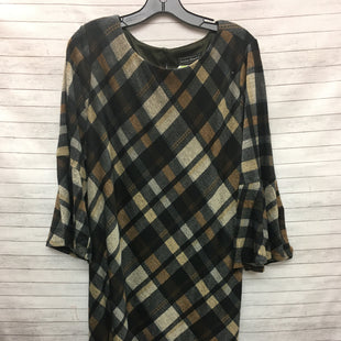 Primary Photo - BRAND: JESSICA HOWARD STYLE: DRESS SHORT LONG SLEEVE COLOR: PLAID SIZE: 2X SKU: 240-24052-53057