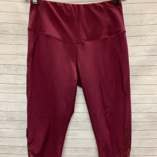 Primary Photo - BRAND: 90 DEGREES BY REFLEX STYLE: ATHLETIC PANTS COLOR: PLUM SIZE: S SKU: 240-24092-549