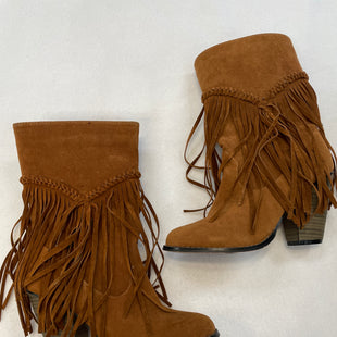 Primary Photo - BRAND:    CLOTHES MENTOR STYLE: BOOTS ANKLE COLOR: BROWN SIZE: 7 OTHER INFO: AMERICAN EXCHANGE - SKU: 240-24049-53353