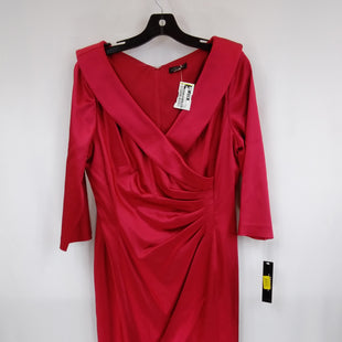 Primary Photo - BRAND: TAHARI BY ARTHUR LEVINE STYLE: DRESS SHORT LONG SLEEVE COLOR: RED SIZE: XL OTHER INFO: SIZE 14- COCKTAIL WEAR SKU: 240-24049-57857