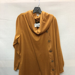 Primary Photo - BRAND:    CLOTHES MENTOR STYLE: TOP LONG SLEEVE COLOR: BROWN SIZE: 3X OTHER INFO: GODDESS - SKU: 240-24090-148