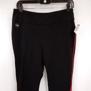 Primary Photo - BRAND: LAUREN BY RALPH LAUREN STYLE: ATHLETIC CAPRIS COLOR: BLACK RED SIZE: L SKU: 240-24052-56764