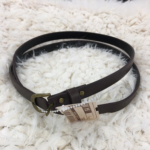 Primary Photo - BRAND:    CLOTHES MENTOR STYLE: BELT COLOR: BROWN SIZE: S SKU: 240-24068-5715