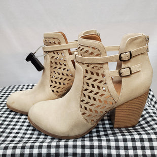 Primary Photo - BRAND: QUPID STYLE: BOOTS ANKLE COLOR: TAN SIZE: 8 SKU: 240-24049-50963