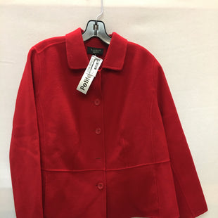 Primary Photo - BRAND: TALBOTS STYLE: COAT SHORT COLOR: RED SIZE: 1X OTHER INFO: PETITE SKU: 240-24049-51796