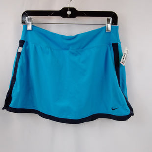 Primary Photo - BRAND: NIKE APPAREL STYLE: ATHLETIC SKIRT SKORT COLOR: BLUE SIZE: M SKU: 240-24052-57903