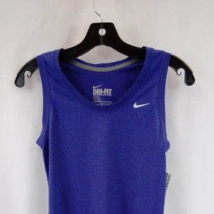 Primary Photo - BRAND: NIKE APPAREL STYLE: ATHLETIC TANK TOP COLOR: BLUE SIZE: S SKU: 240-24049-58616