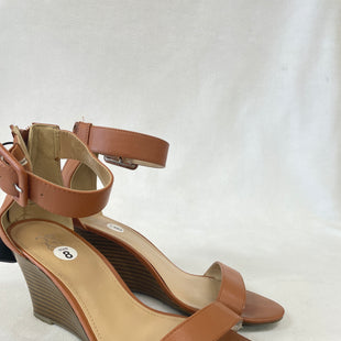Primary Photo - BRAND: NEW YORK AND CO STYLE: SANDALS HIGH COLOR: BROWN SIZE: 8 SKU: 240-24049-55696