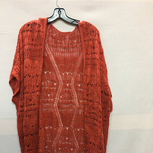 Primary Photo - BRAND:    CLOTHES MENTOR STYLE: SWEATER LIGHTWEIGHT COLOR: ORANGE SIZE: 1X OTHER INFO: NB - SKU: 240-24049-51795
