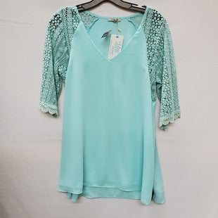 Primary Photo - BRAND: JODIFL STYLE: TOP LONG SLEEVE COLOR: BLUE GREEN SIZE: S SKU: 240-24090-216