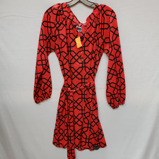 Primary Photo - BRAND: MUDPIE STYLE: DRESS SHORT LONG SLEEVE COLOR: RED SIZE: M SKU: 240-24069-16443